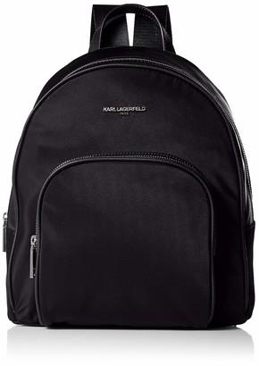 Karl Lagerfeld Paris Women's Cara Medium Backpack