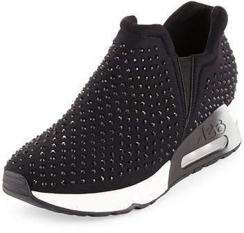 Ash Lifting Crystal Slip-On Sneaker