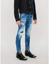 Dsquared2 Skater ripped slim-fit jeans