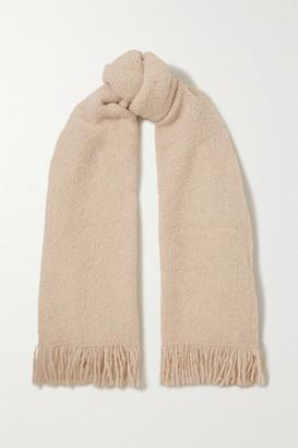 LAUREN MANOOGIAN Alpaca, Wool And Cotton-blend Scarf - Beige