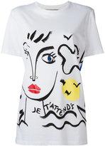 Iceberg face print T-shirt