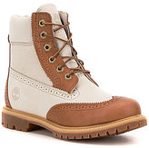Timberland Premium Brogue Premium Leather Waterproof Lace Up Boots