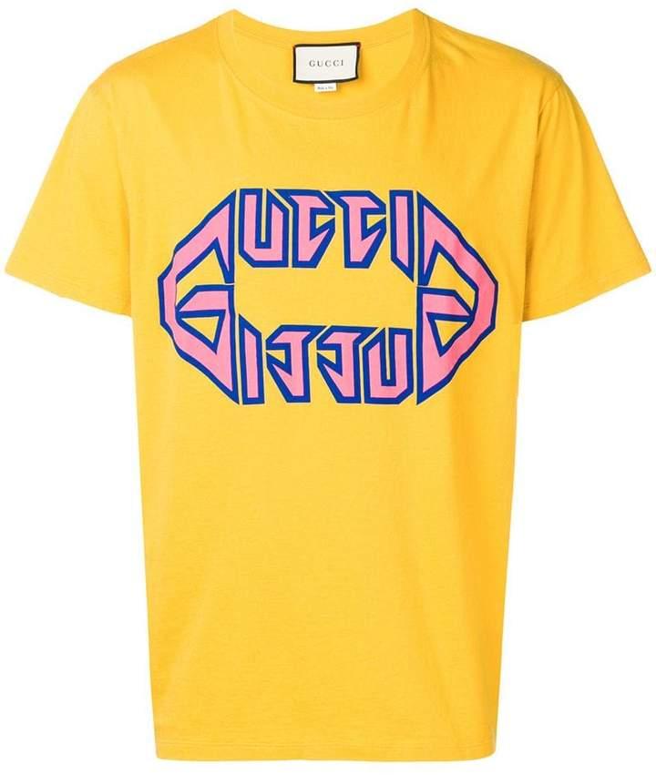 07545796f78 Gucci Logo Shirts - ShopStyle