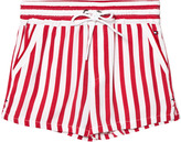 Tommy Hilfiger Red and White Shorts