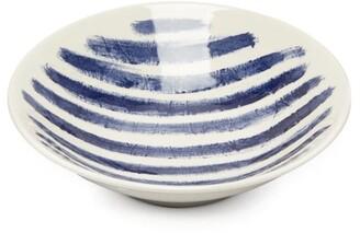 1882 X Faye Toogood - Indigo Storm Medium Earthenware Dinner Plate - Blue White