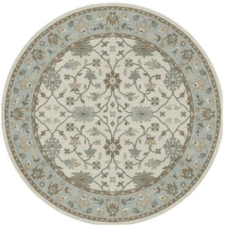 Pottery Barn Malika Persian-Style Hand Tufted Wool Rug - Neutral Warm Gray