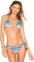 Nanette Lepore Vixen Bikini Top in Blue