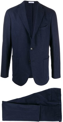 Boglioli Fitted Single-Breasted Suit