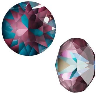 Swarovski Crystal, 1088 Xirius Round Stone Chatons ss39, 6 Pieces, Crystal Burgundy DeLite