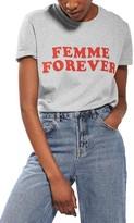 Topshop Women's Femme Forever Tee