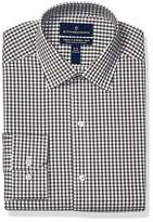 Buttoned Down Amazon Brand Men's Tailored Fit Tech Stretch CoolMax Easy Care Dress Shirt