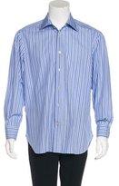 Kiton Striped Woven Shirt