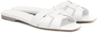 Saint Laurent Tribute Nu Pieds leather sandals