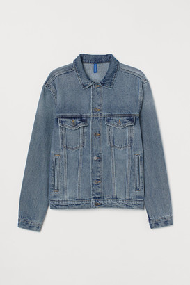 H&M Printed denim jacket