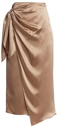 Cinq à Sept Mya Wrap Slip Skirt