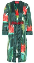 For Restless Sleepers Silk Dressing Gown