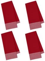 Waffle & Stripe Dish Towels (Set of 4)