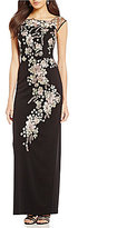 Decode 1.8 Floral Embroidered Gown