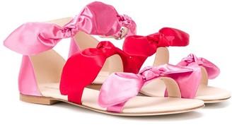 Florens TEEN bow strap sandals