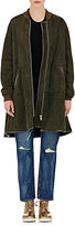 VIS A VIS Women's Shearling Zip-Front Coat