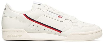 adidas White Continental Rascal Leather Sneakers