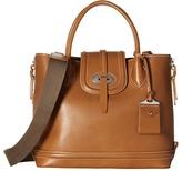 Dooney & Bourke Florentine Side Zip Satchel Satchel Handbags