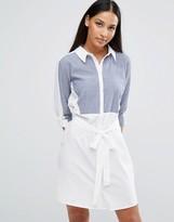 AX Paris Fabric Insert Shirt Dress