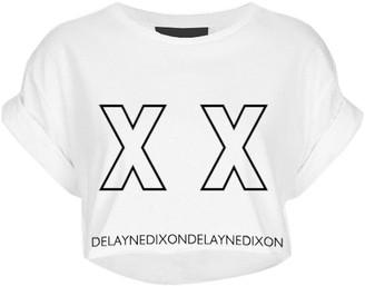 Delayne Dixon Xx Tee Cropped Graphic Tee
