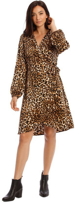 Vero Moda Gamma Wrap Dress