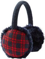 Osh Kosh Faux Fur Plaid Earmuffs