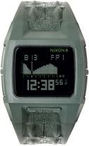 Nixon Men's Lodown II Croc Embossed Silicone Digital Watch