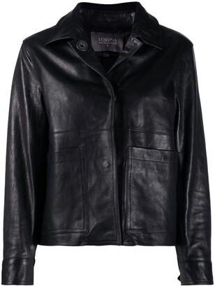 Lorena Antoniazzi Faux Leather Jacket