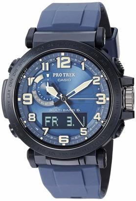 Casio Men's PRO Trek Stainless Steel Quartz Watch with Resin Strap Black 23.5 (Model: PRW-6600Y-2CR)