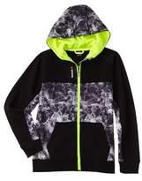 Reebok Boys' Smoky Print Zip Front Jacket.