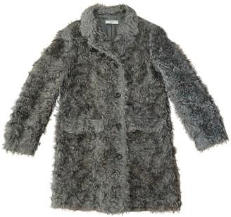 Prada Grey Faux fur Coat for Women