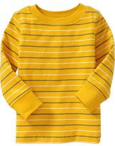 Old Navy Long-Sleeve Striped Tees for Baby