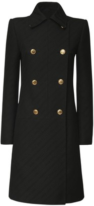 Givenchy Jacquard Double Breasted Coat