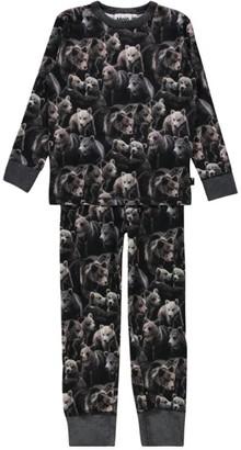 Molo Grizzly Bear Tedo Pyjama Set (2-14 Years)