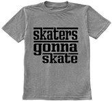 Urban Smalls Heather Gray 'Skaters Gonna Skate' Tee - Toddler & Boys
