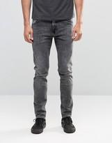 Weekday Friday Skinny Jeans Generic Grey Acid