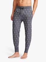 Ralph Lauren Polo Pony Print Jersey Lounge Pants