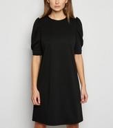 New Look Puff Sleeve Tunic Dress
