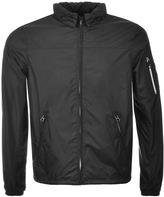 Replay Windbreaker Jacket Black
