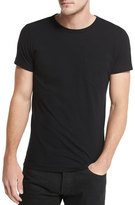 Tom Ford Crewneck Short-Sleeve T-Shirt, Black