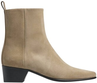Pierre Hardy reno ankle boots sand