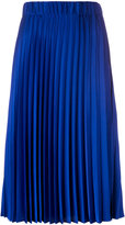 P.A.R.O.S.H. mid-length pleated skirt - women - Polyester - M