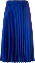 P.A.R.O.S.H. mid-length pleated skirt