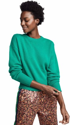 Theory Women's Drop Shoulder Crewneck Sweater
