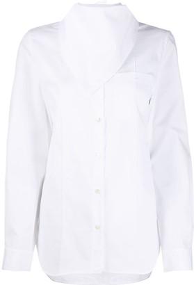 Ann Demeulemeester Scarf-Collar Shirt