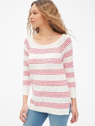 Gap Boatneck Sweater in Slub Cotton